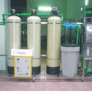 Dây chuyền lọc nước 750ml/h 2 màng