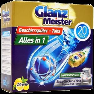 Viên rửa bát Glanz Meister all in one